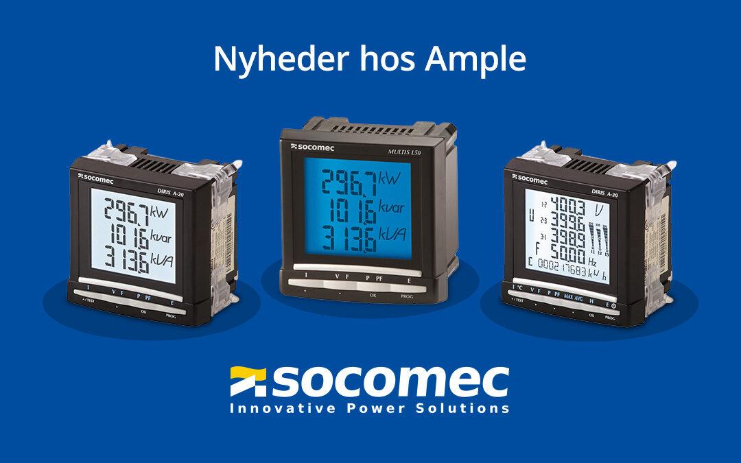 Nyhed: Socomec produkter fra Ample